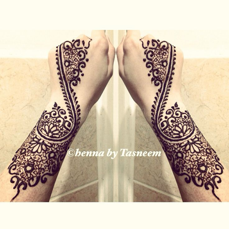 Henna design (could wrap up a leg instead)