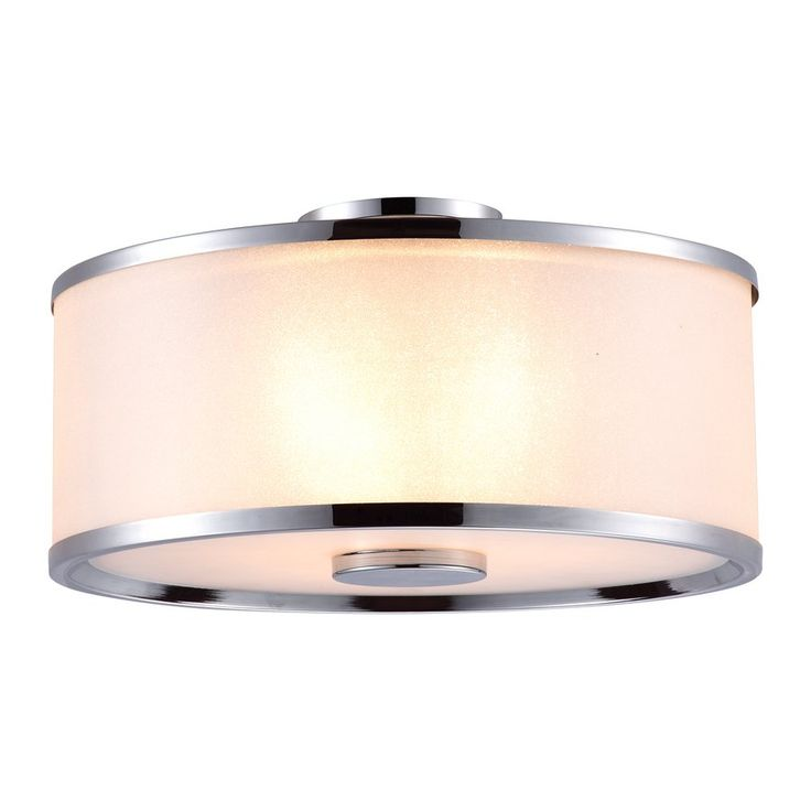Shop dvi 3 light milan medium semi flush mount ceiling light at lowes canada find our selection of flush mount ceiling lights at the lowest price