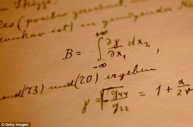 """""""Theory of Relativity"""" in Einstein's own hand"""