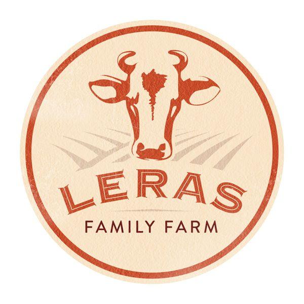 Leras Family Farm Brand Identity by Eddie Aranda, via Behance