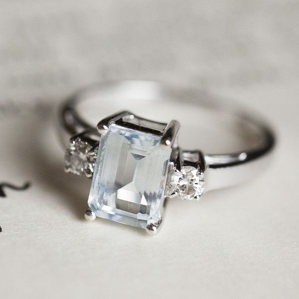 An amazing emerald cut engagement ring! | Stephanie Brauer Wedding Photography