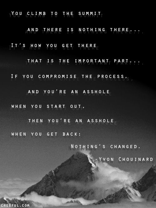 yvon chouinard quotes - Google Search