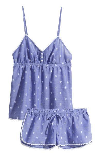 Pijama din bumbac | H&M