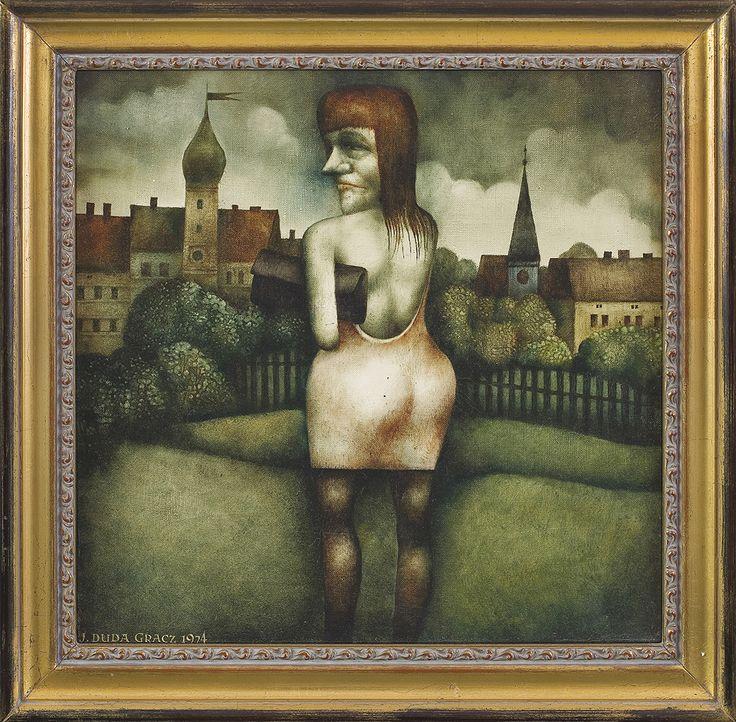 Jerzy Duda Gracz | POLSKI, 1974 | olej, płótno | 39.5 x 40 cm