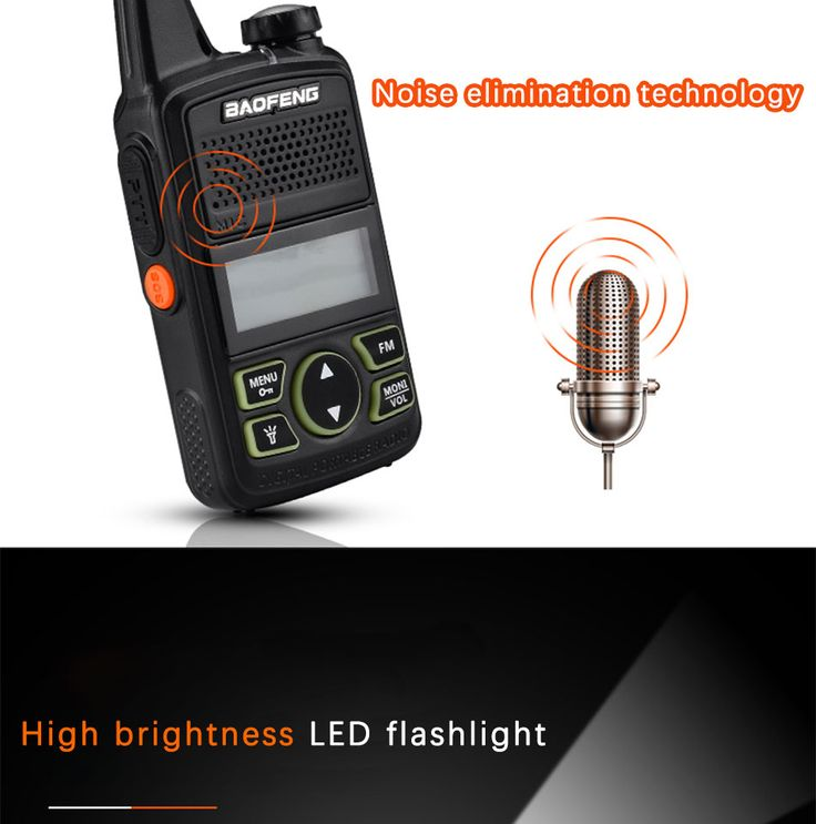 BF-T1 Frequency 400-470MHz 20 Channels Mini Ultra-thin Driving Hotel Civilian Walkie Talkie