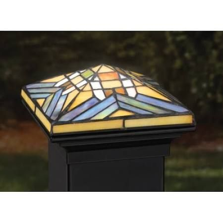 51 Best Stained Glass Post Caps Images On Pinterest