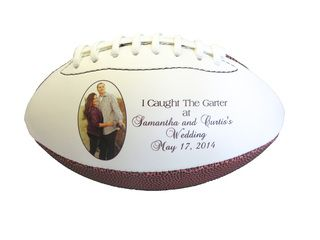 Rugby ball personalized wedding gifts