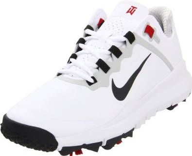 The medial forefoot on these mens TW 13 golf shoes by Nike maintains ground contact for optimal traction and controlled power through impact