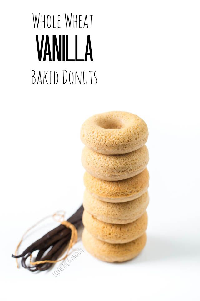 whole wheat vanilla baked dOnuts