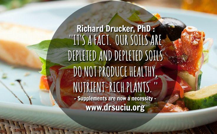 Depleted soils, nutrient-depleted food - drsuciu
