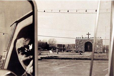 Self Portrait, Route 9W, New York, 1969