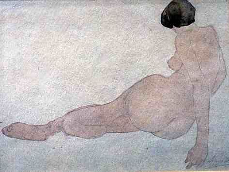 Auguste Rodin - Seated woman