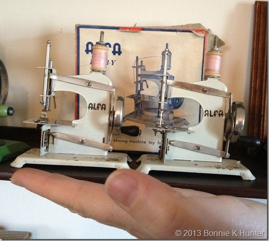 This lady owns over 1,000 old sewing machines - what a treat to see them all!