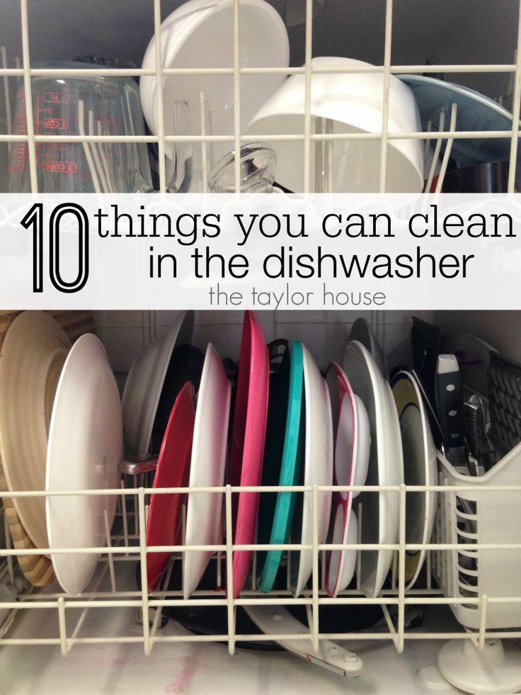 Reinigungstipps, Reinigung, Geschirrspüler Reinigungstipps