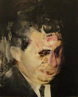 Adrian Ghenie, Study for Boogyman, 2010