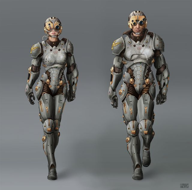 Rolf Bertz Blog: russian sci-fi suit Concept Russian Cherno Alpha Pacific Rim Costume