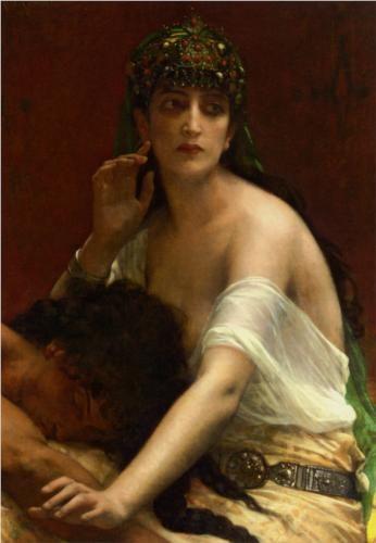 Samson and Delilah - Alexandre Cabanel
