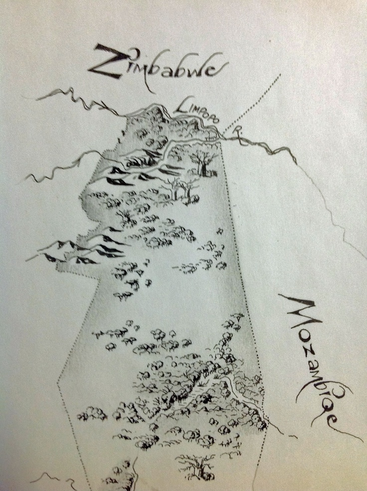 Map by Gregory Andrej to go into the front cover of Mark's Strength. To be released end of 2013.