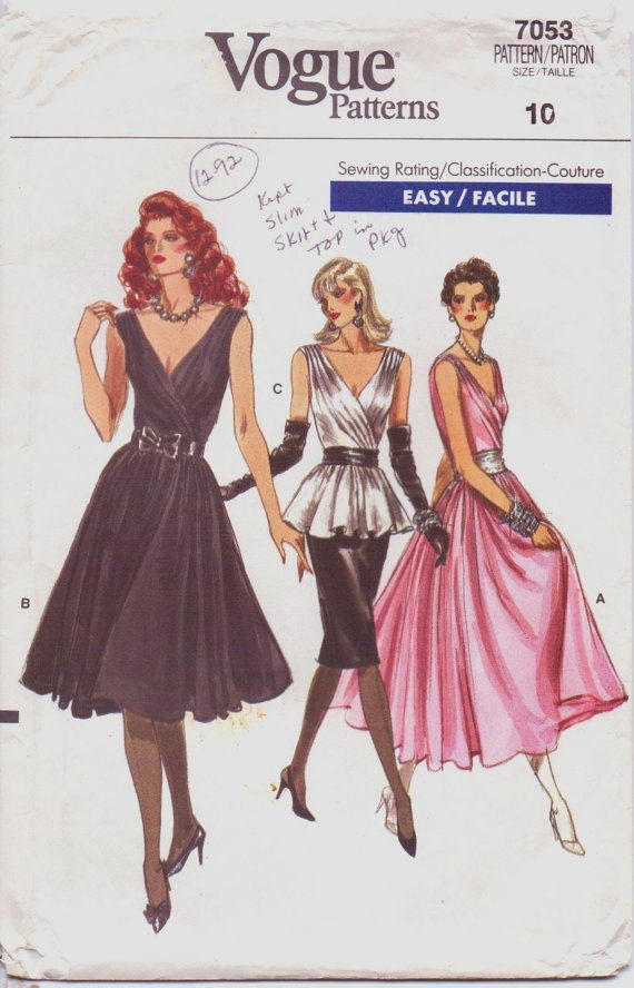 245 Best Vogue Patterns Images On Pinterest Fashion Patterns