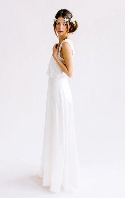 die besten 25 schlichte hochzeitskleider ideen auf pinterest amelia sposa hochzeitskleid. Black Bedroom Furniture Sets. Home Design Ideas