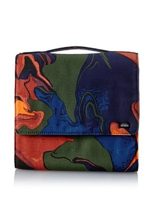 31% OFF Kate Spade Saturday Women's Large Fold Up Cosmetic Bag, Hot Lava, One Size