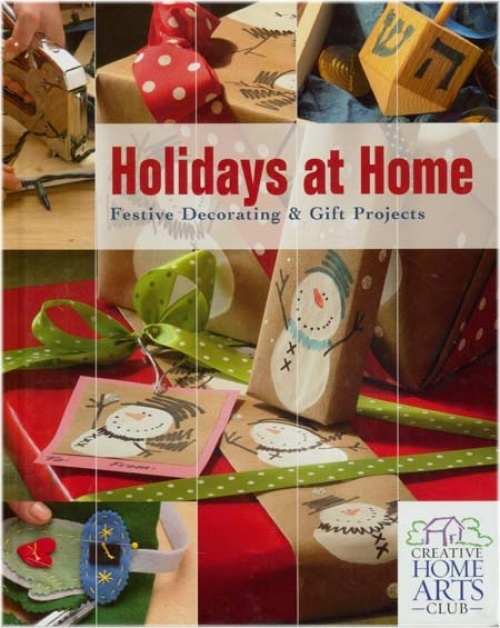 Book - Holidays At Home: Festive Decorating & Gift Projects. | See