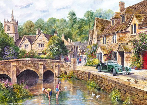 Castle Combe by Terry Harrison