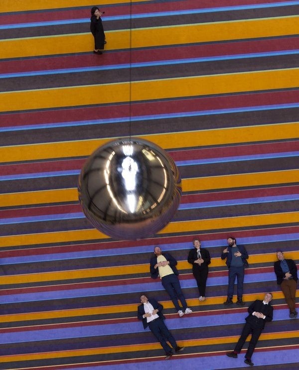 SUPERFLEX installation in Turbine Hall