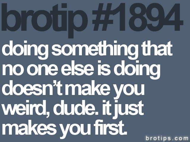bro tips :): Hipster