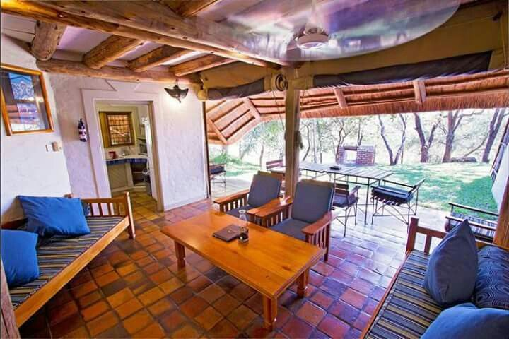 """Lokuthula Lodges - Meaning """"place of peace"""", the two and three-bedroom self-catering lodges are nestled amidst beautiful gardens, frequented by warthogs, bushbuck and mongooses, and featuring a three-tiered swimming pool and playground. The lodges may also be booked on a bed and breakfast basis.... Our website is http://gerhard53.wixsite.com/extreme-frontiers"""
