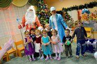 Новогоднее поздравление от Деда Мороза и Снегурочки #kvantil-event