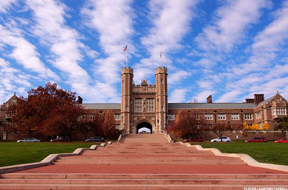 ❤ =^..^= ❤   13. Washington University in St. Louis St. Louis, MO