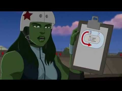 The Rules of Roller Derby (Marvel Style) This snippet was borrowed from: Hulk and the Agents of S.M.A.S.H. S02E18