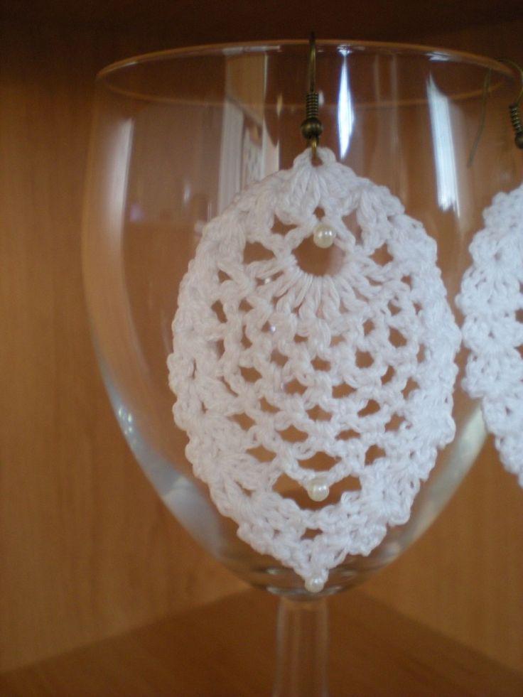 Pineapple beaded earrings - full written pattern