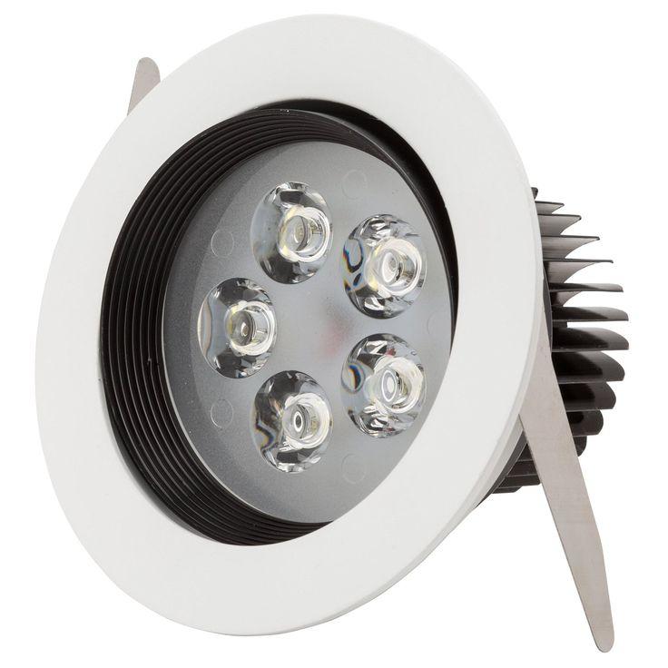Foco Downlight de LEDs Circular 5W 500Lm 30.000H: Amazon.es: Iluminación