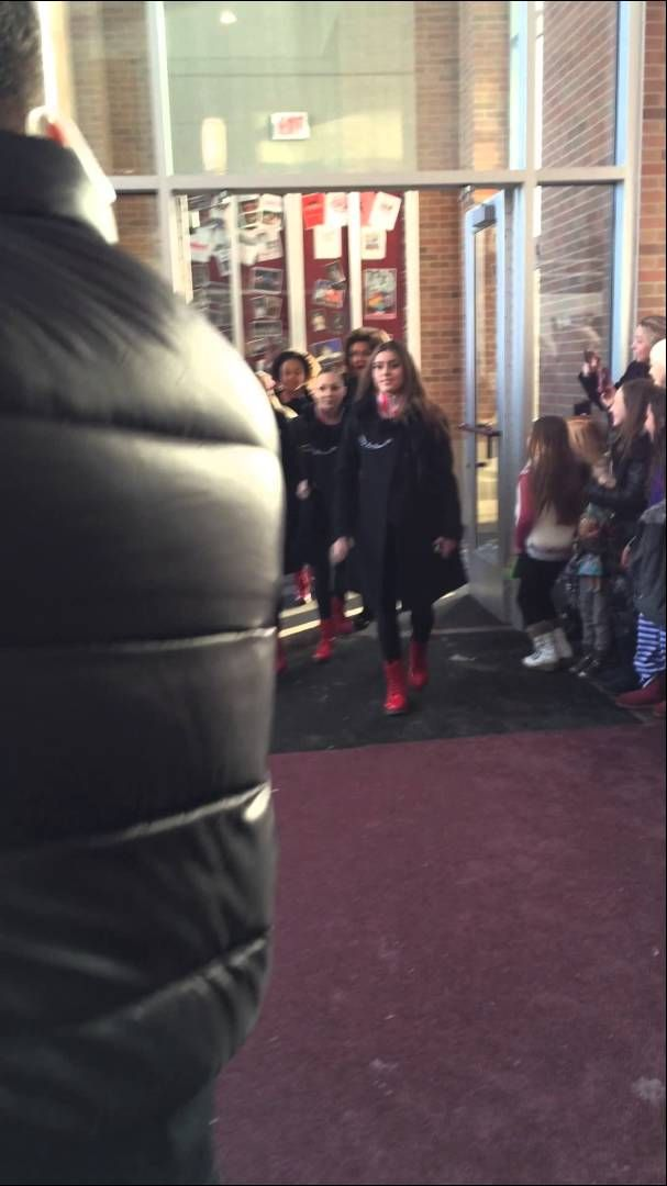 Dance Moms Cast entering Competition in Highland, Michigan