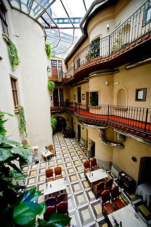 Hotel Copernicus. Hotel and restaurant in town. Krakow, Poland. Unique in the world: the precious polychrome paintings and inscriptions dating from 1500. #relaischateaux #poland #copernicus