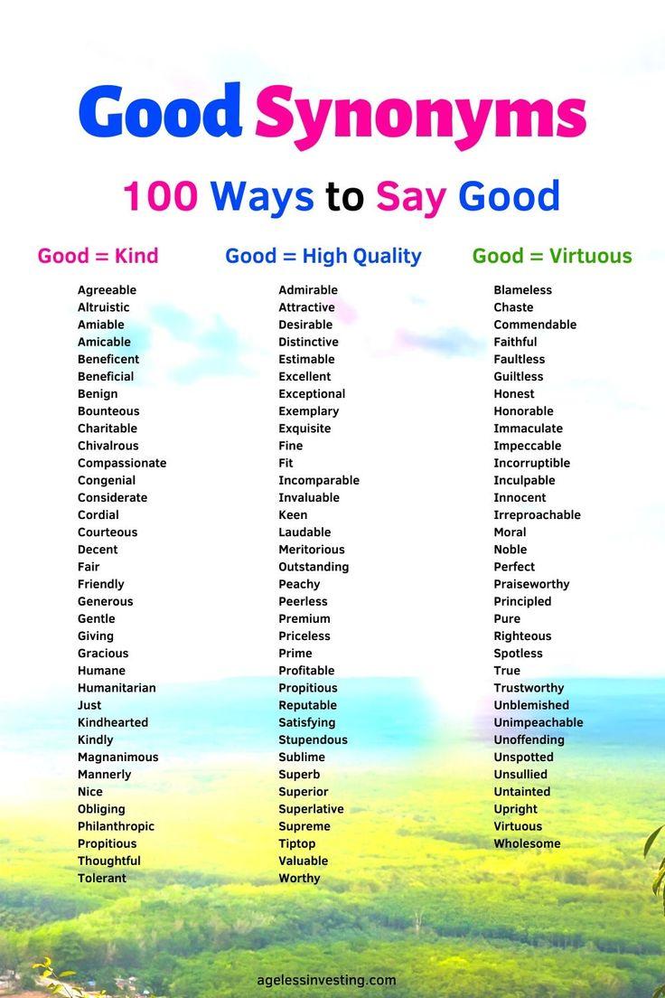 in good health synonym