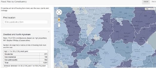 UK Flood Risk Map