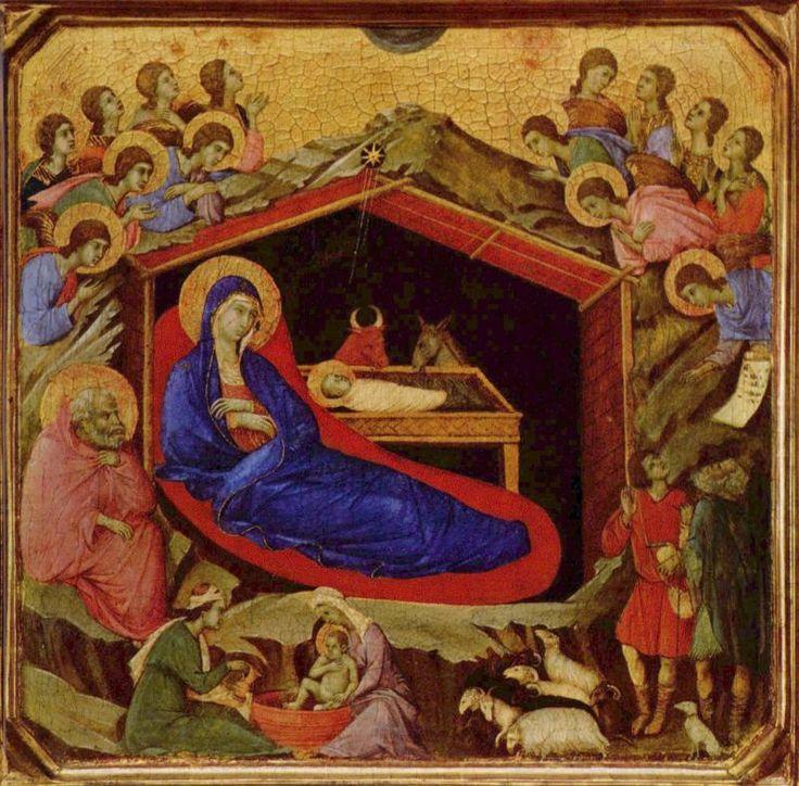 Рождество Дуччо ди Буонинсенья