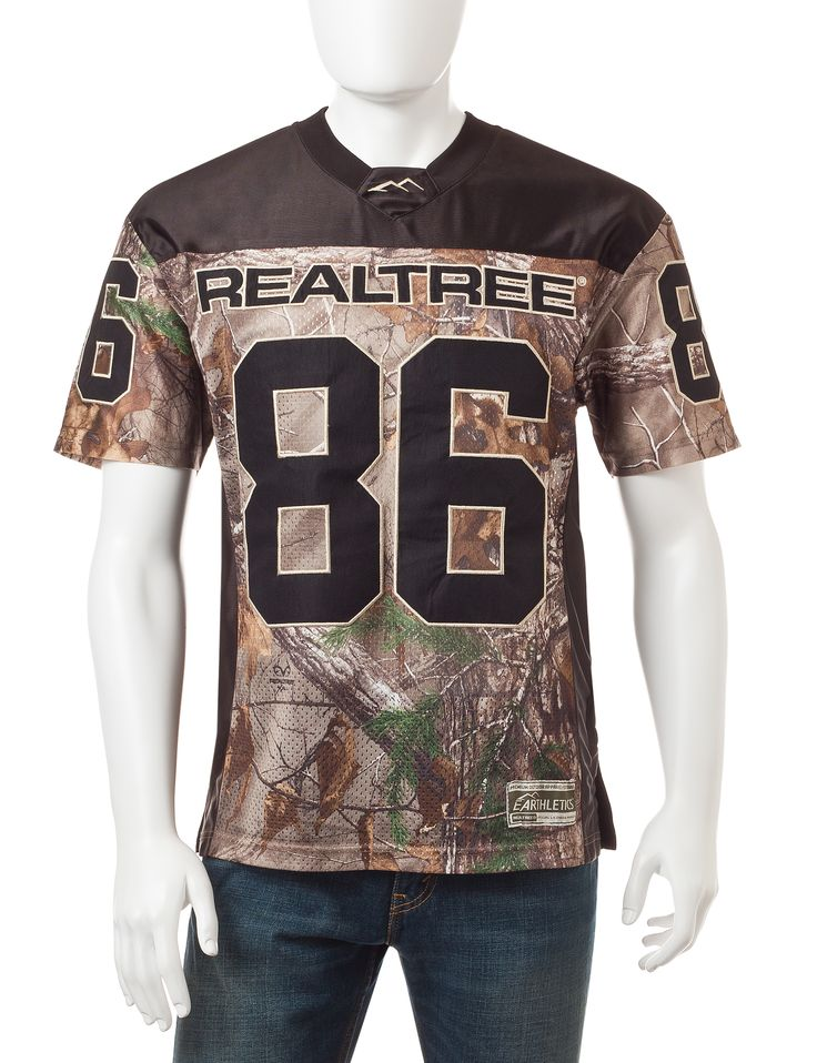 Earthletics Realtree® Xtra Camo Print 30th Anniversary Jersey Knit Shirt | Stage Stores