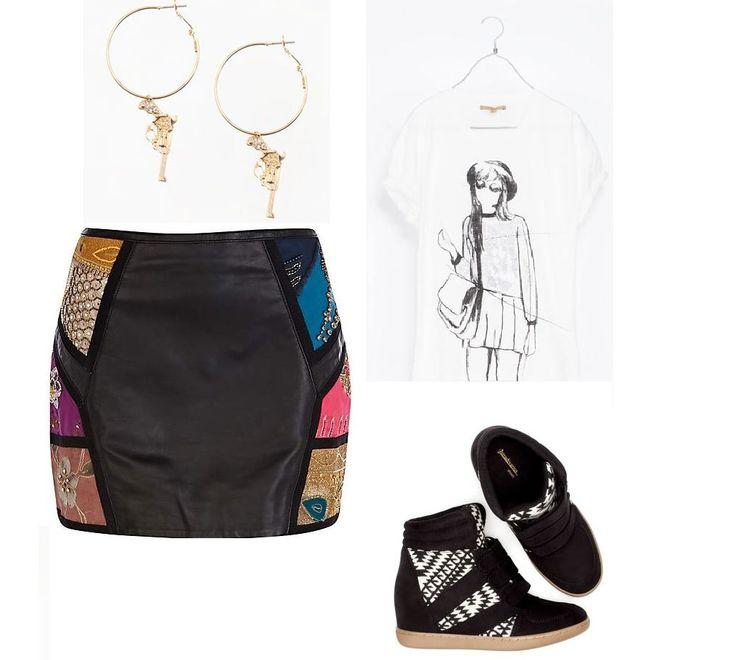 #leatherskirt #skirt