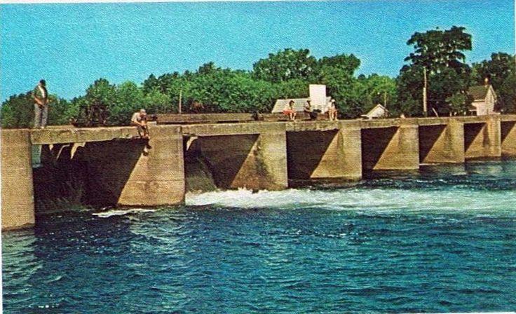 Bobcaygeon dam 1960