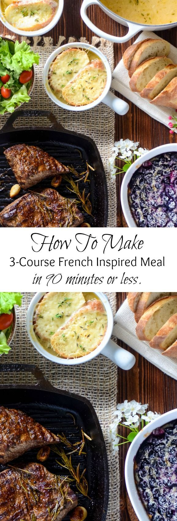 Prepare to have the best feast of your life! With my Easy French Dinner Recipes you'll immerse in an atmosphere of classic French cuisine and try the best French recipes that are sure to become your favorite! Steak Chateaubriand is such an easy recipe, you'll be surprised. It tastes amazing and is sure to please your loved ones!