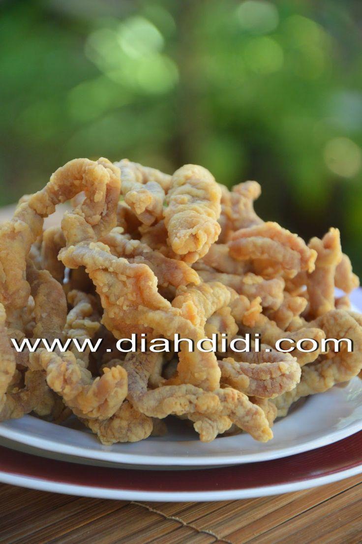 Diah Didi's Kitchen: Usus Goreng Krispi