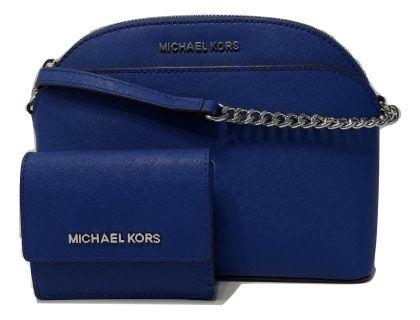 d06f0e2c2c8f Bundle of 2 items: MICHAEL Michael Kors Emmy MD Crossbody bundle with Michael  Kors Jet