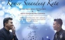Info Konser Senandung Kata with Tulus feat Dudy Oris, and Many More