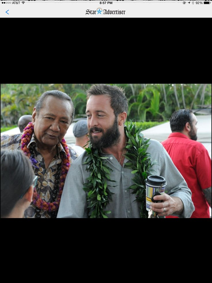 H50 Blessing from The Star Advertiser  ♥♥♥  Al Harrington and Alex O'Loughlin