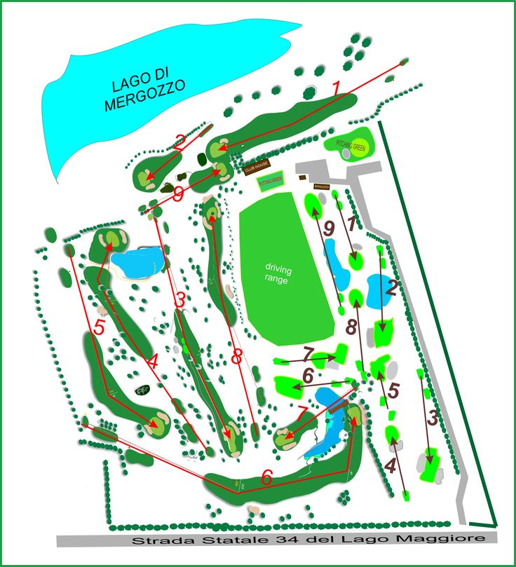 Golf Verbania - Mergozzo Course and Pineta Course