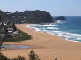 This is where we spent all our childhood weekends away and holidays- <3 Avoca Beach